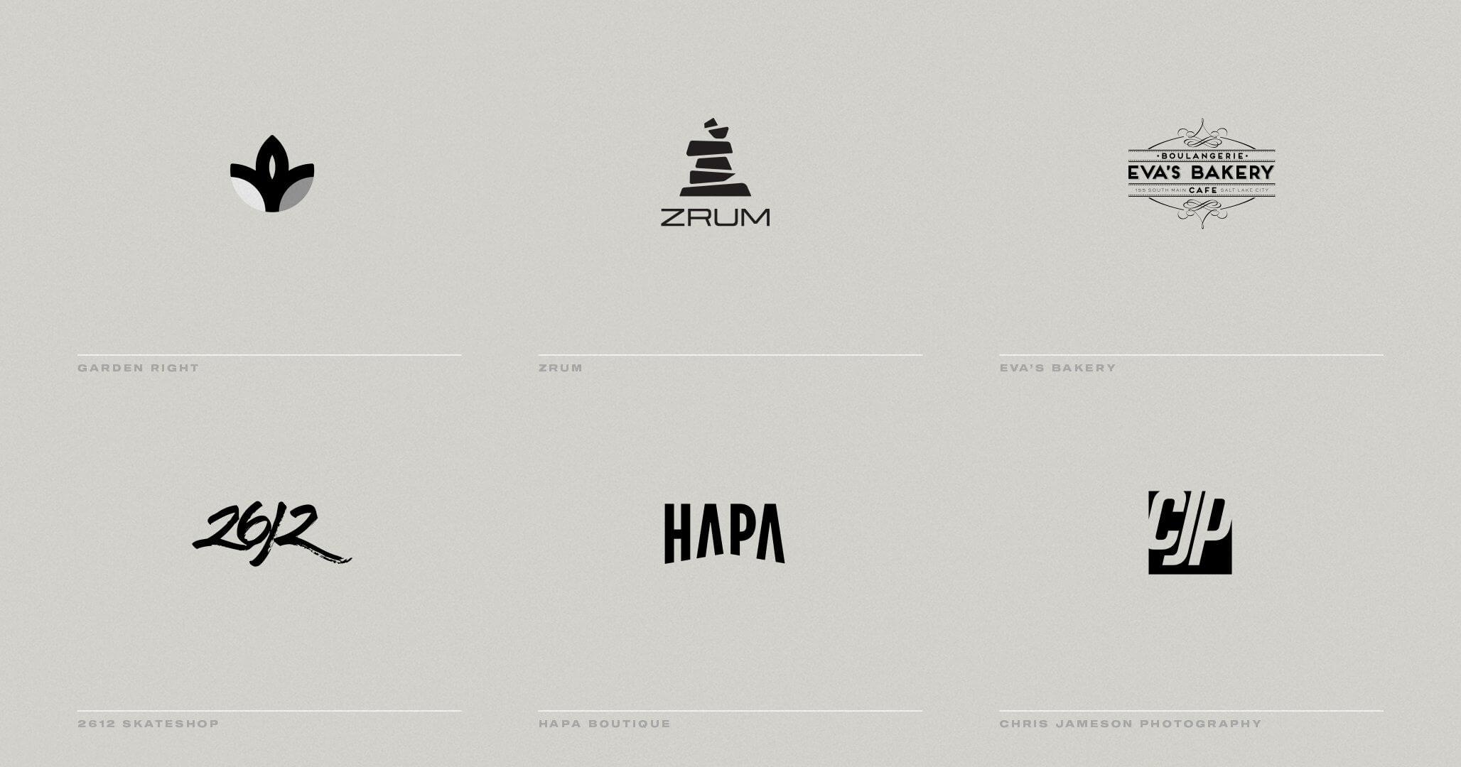 Logos marks 02 - 6400percent
