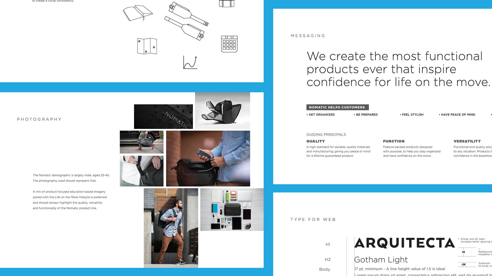 Brand Guide Pages - Nomatic
