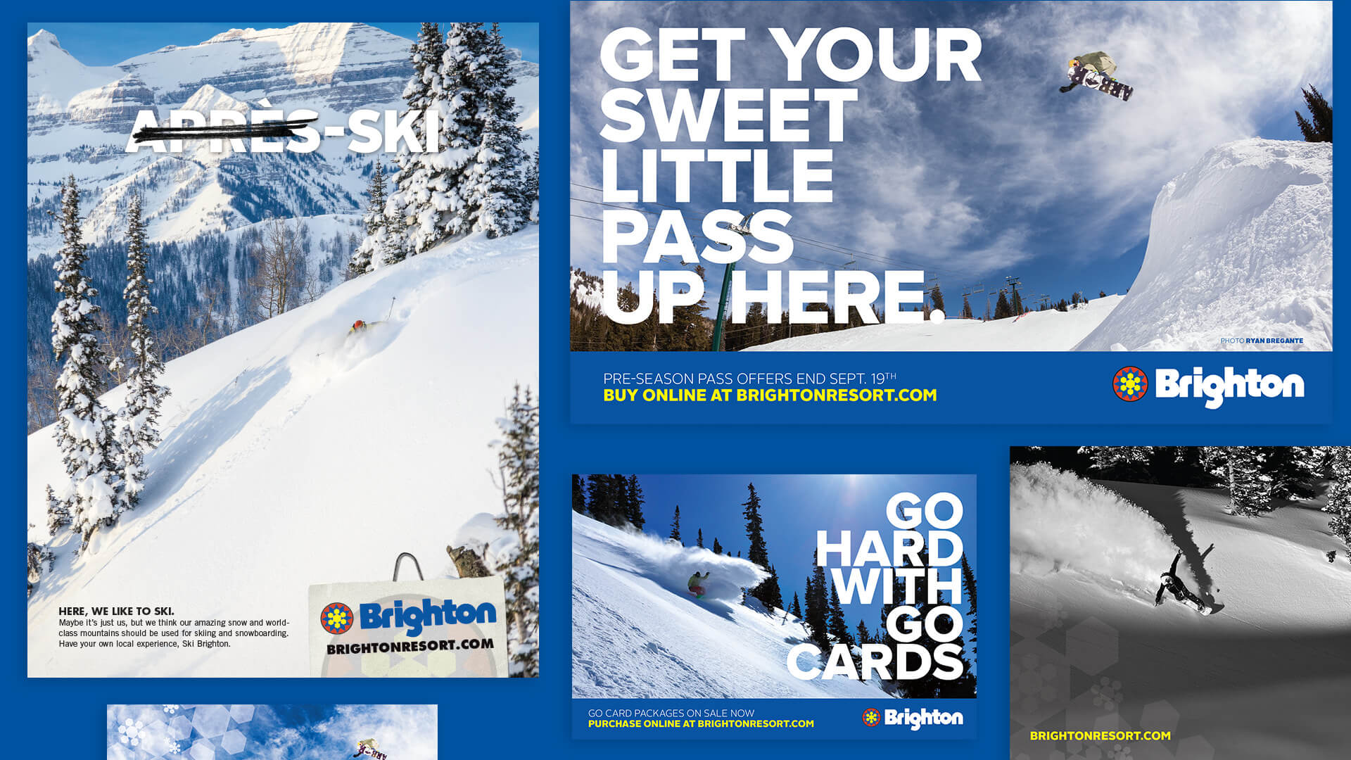 Print Advertisements - Brighton Ski Resort