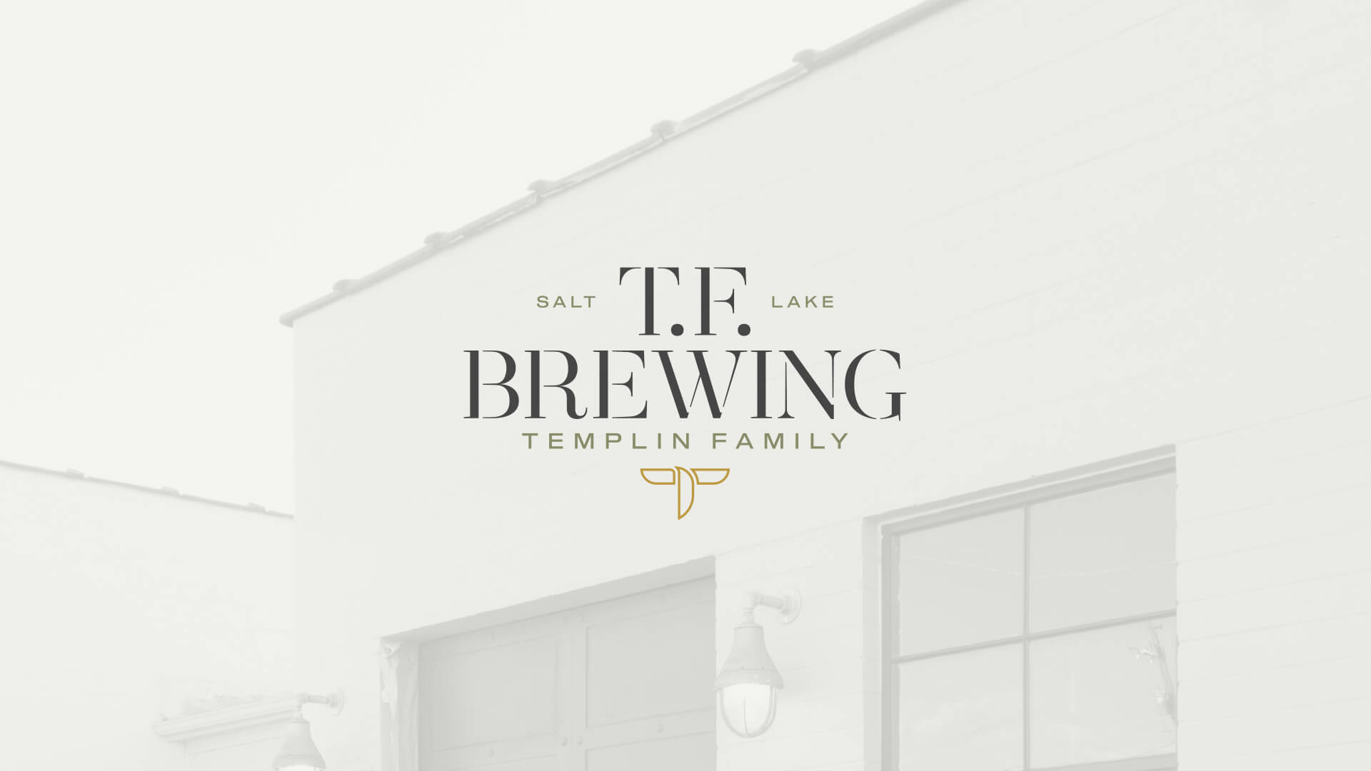Logo design - T.F. Brewing