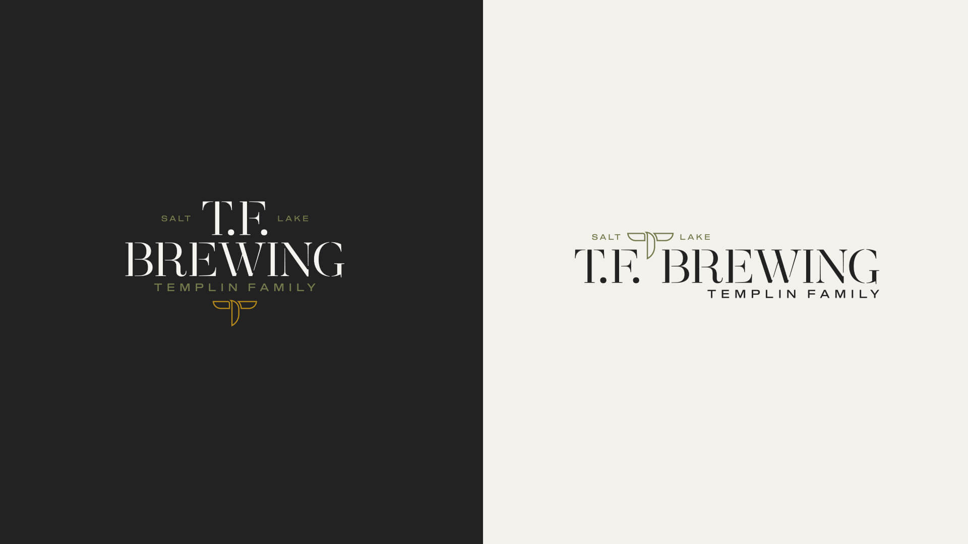 Logo system - T.F. Brewing