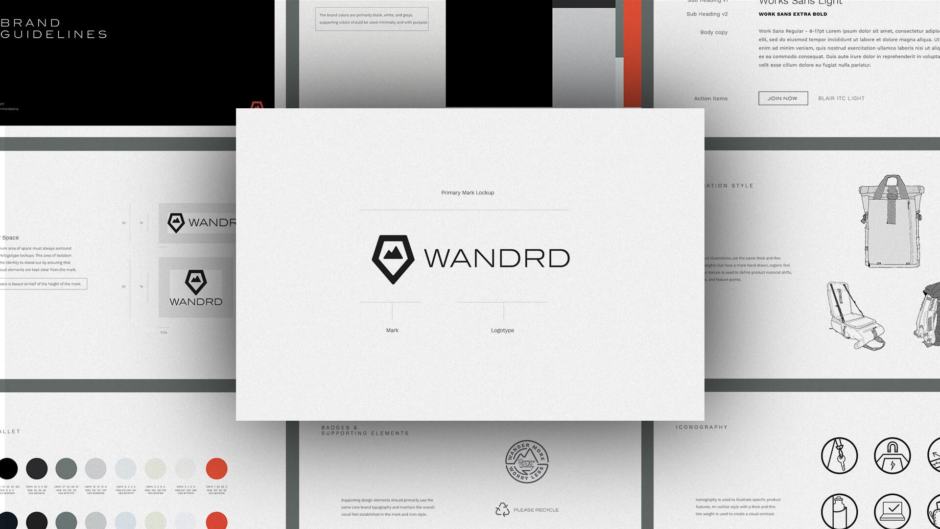 Brand Guide - Wandrd