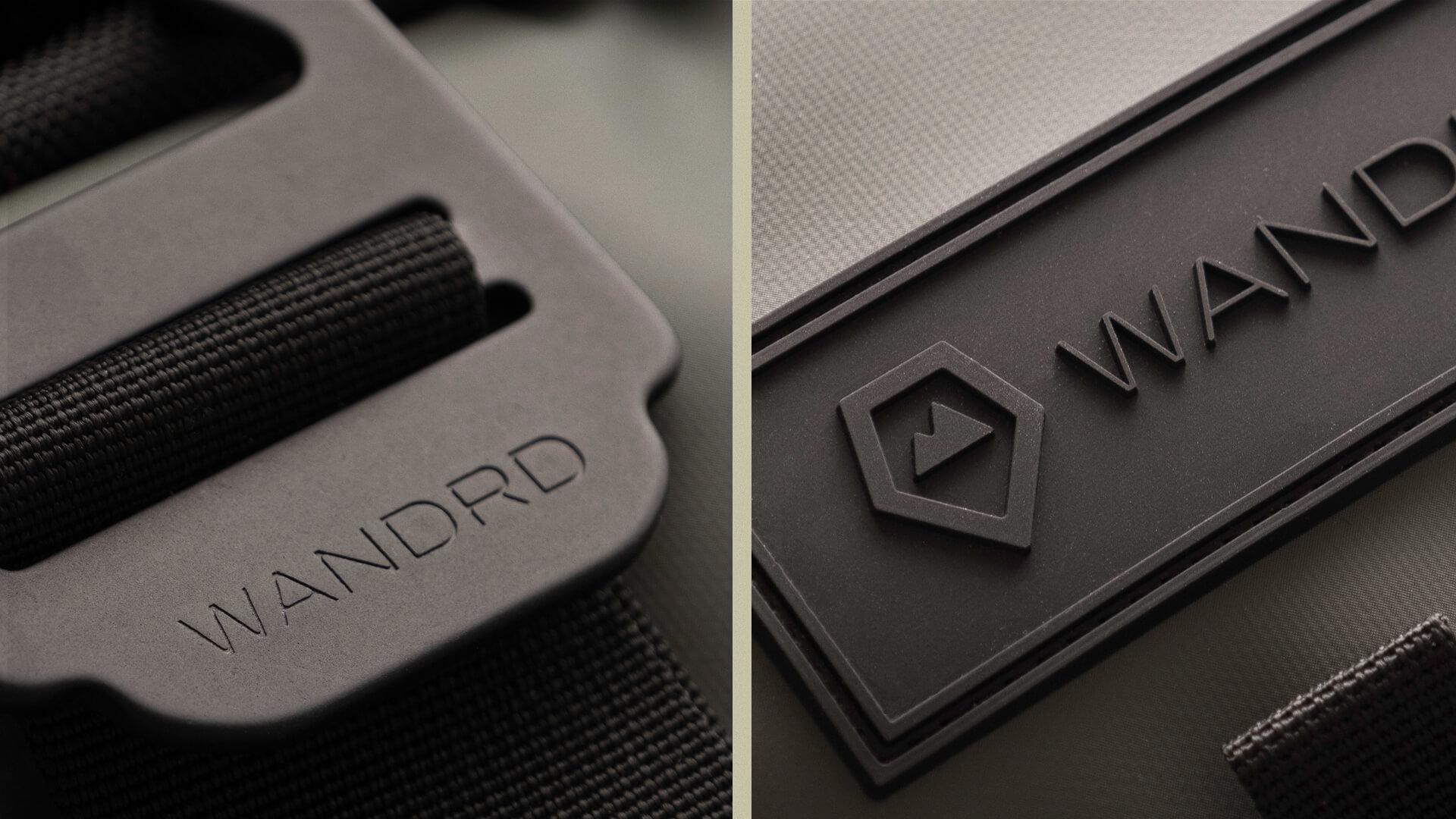 Branding on bag - Wandrd